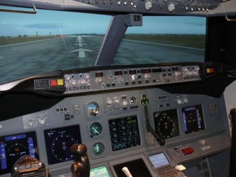 Simulador de Boeing 737