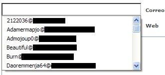 Historial de un formulario