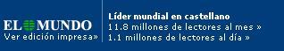 Número de lectores de El Mundo
